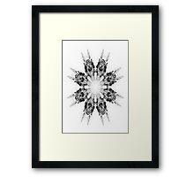 Floroscope 01b Framed Print