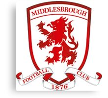 Middlesbrough Badge 2016 Canvas Print