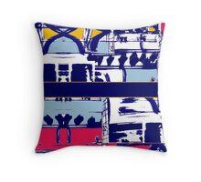 Textural Patterns Throw Pillow