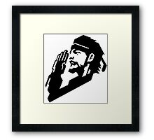 -METAL GEAR SOLID- Portable Ops Logo Framed Print