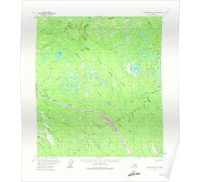 USGS TOPO Map Alaska AK Mount McKinley B-6 357785 1958 63360 Poster