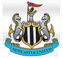 Newcastle United Badge 2016 Poster