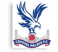Crystal Palace FC Badge 2016 Canvas Print