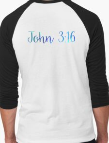 Bible Verse Men's Baseball ¾ T-Shirt