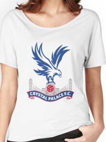 Crystal Palace FC Badge 2016 Women's Relaxed Fit T-Shirt