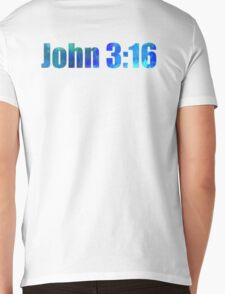 Bible Verse Mens V-Neck T-Shirt