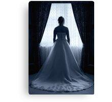 Bridal Silhouette Canvas Print