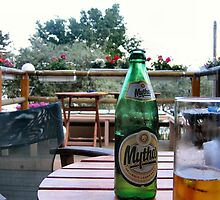 Greek beer. Mythos. by ronsaunders47