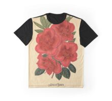 Azalea Indica Flower Art Graphic T-Shirt