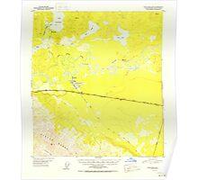 USGS TOPO Map Alaska AK Tanacross B-5 359730 1952 63360 Poster