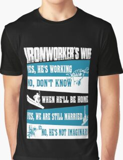 Awesome funny T - shirt design for ironwoker and more Graphic T-Shirt