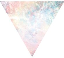 Pastel Triangle Nebula design by Lowink