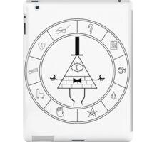 Bill cipher summoning wheel iPad Case/Skin