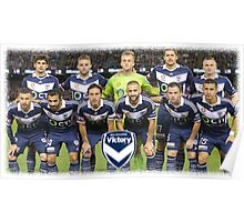 Melbourne Victory The Best Team Poster