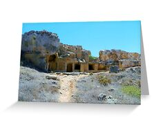 Tomb of the Kings Greeting Card