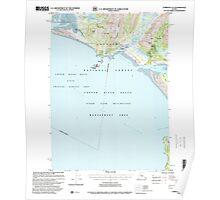 USGS TOPO Map Alaska AK Cordova A-2 355130 1997 63360 Poster