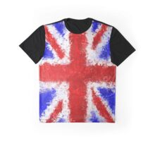 Union Jack Grunge Graphic T-Shirt