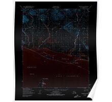 USGS TOPO Map Alaska AK Teller B-4 359901 1950 63360 Inverted Poster
