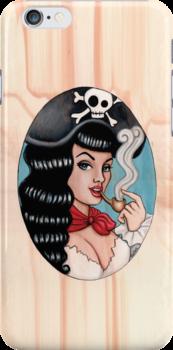 Pirate chick by Isobel Von Finklestein