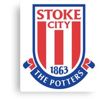 Stoke City FC Badge 2016 Canvas Print
