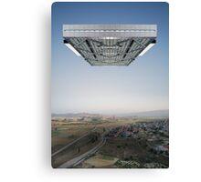 Kosmische Reisende 1 Canvas Print