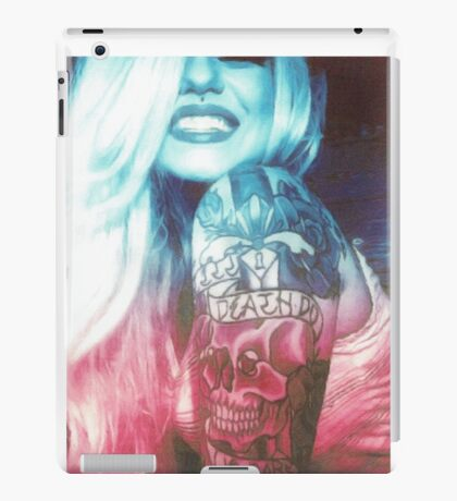 Tattoo Babe iPad Case/Skin