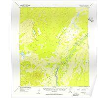 USGS TOPO Map Alaska AK Fairbanks B-6 355569 1953 63360 Poster