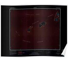 USGS TOPO Map Alaska AK Amukta 360535 1951 250000 Inverted Poster