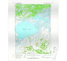 USGS TOPO Map Alaska AK Russian Mission B-3 358642 1952 63360 Poster