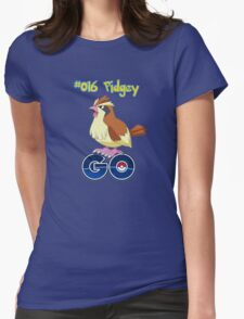 016 Pidgey GO! Womens Fitted T-Shirt