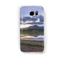 Rice field during sunset Samsung Galaxy Case/Skin