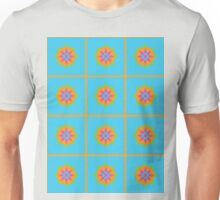 Tile Pop Arabesque Pattern Unisex T-Shirt
