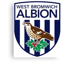 West Bromwich Badge 2016 Canvas Print
