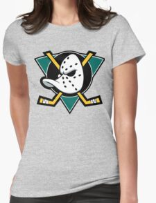 MIGHTY DUCK Womens Fitted T-Shirt