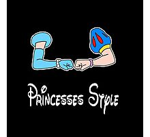 Bro-fist Princesses Style Photographic Print