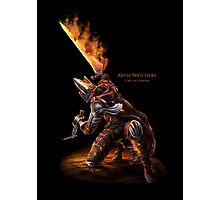 Abyss Watcher embered Photographic Print
