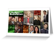 Parks and Recreation Cover Art Greeting Card