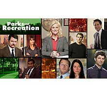 Parks and Recreation Cover Art Photographic Print