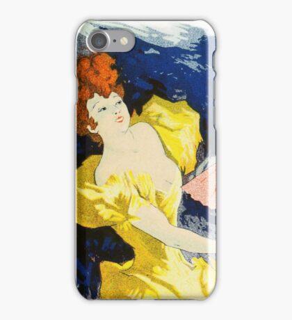 Vintage Chéret, Jules 1896 Poster  iPhone Case/Skin