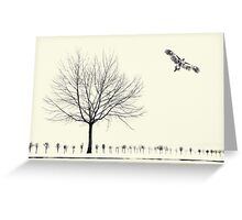 Blickwechsel - Change of Perspective Greeting Card