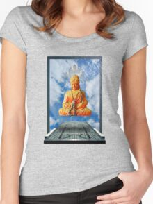 Kosmische Talisman 3 Women's Fitted Scoop T-Shirt