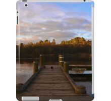 Sunset at Wentworth Falls Lake iPad Case/Skin