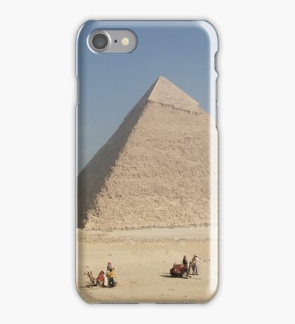Pyramid at Giza iPhone Case/Skin