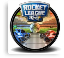 Rocket League Canvas Print
