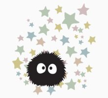 Soot Sprite with stars Kids Tee