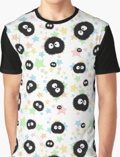 Soot Sprite with stars Graphic T-Shirt