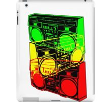 Ghetto Blaster Trio Design iPad Case/Skin
