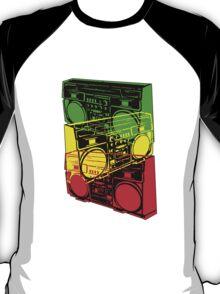 Ghetto Blaster Trio Design T-Shirt