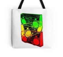 Ghetto Blaster Trio Design Tote Bag