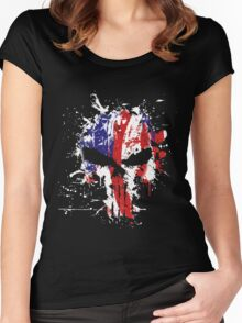 American Punisher  Women's Fitted Scoop T-Shirt